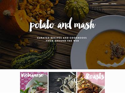Potato And Mash recipe cookbook manhattan