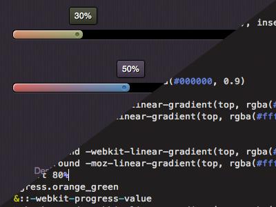 Html5 Progress Bar progress ui html5 css3 rebound bar jquery js javascript css