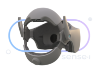 Sense.I wireless VR headset