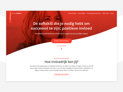 Rethinking Zuidema.nl zuidema website web ux ui type layout interaction design client