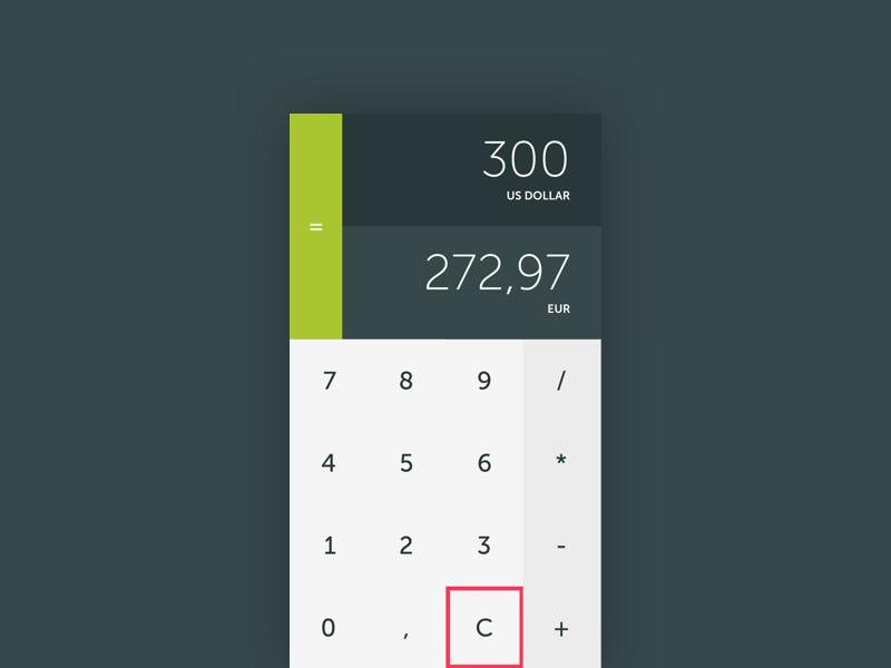 Calculator flat material ui daily calculator