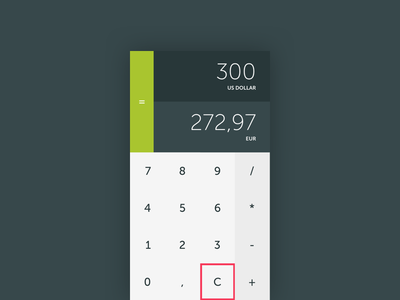 Calculator flat material ui daily calculator