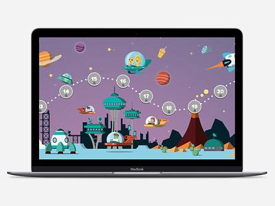 Kids App Education education app education kidsapp kids animation website ui ux typography design illustration game app game