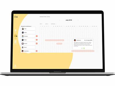 Ux/ui design Case Study visual design case design case study design hr webapp ux ui design ui