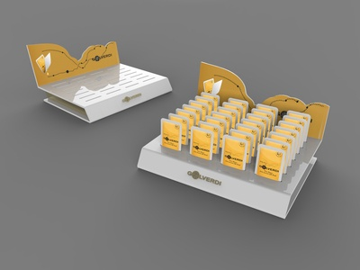 Golverdi / Honey Counter top Stand