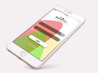 Westernok UI design