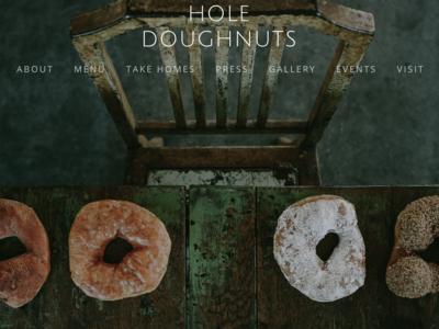 Hole Doughnuts | Asheville, North Carolina
