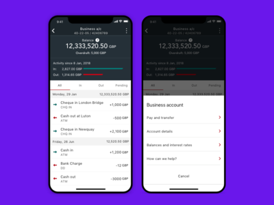 Native iOS and Android app