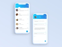 Daily UI Challenge 013 - Direct Messaging