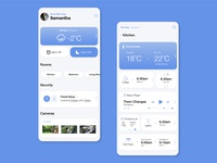 Daily Ui Challenge 021 - Home Monitoring