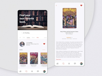 Daily Ui Challenge 022 - Search day22 book search serach book app book mobile design daily ui ui dailyui daily challenge app