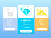 Daily Ui Challenge 030 - Pricing