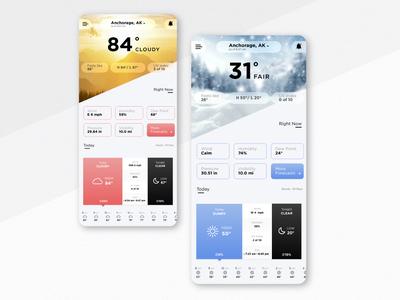 Daily Ui Challenge 037 - Weather App weather forecast weather app weather daily ui design ui daily dailyui challenge app