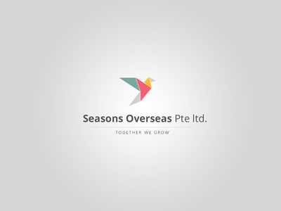 Seasons Logo Concept 2 logo concept design colors seasons freedom