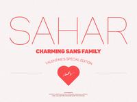 Sahar Family ($3 Valentine's special)