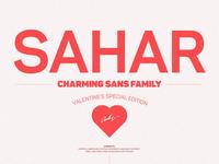 Sahar Sans Family - $4 till end of February