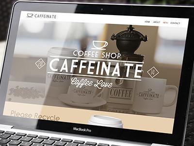 Caffeinate OnePage Website