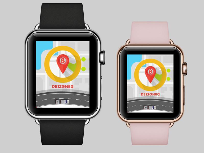 Design8D Driver Application Apple Watch apple watch designated application mobile app taxi driver design8d