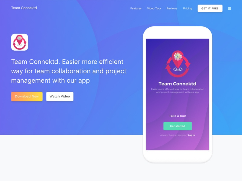 Team Connektd Collaboration Application