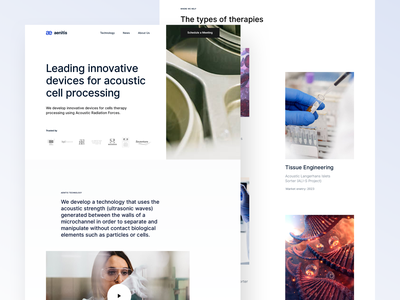 Aenitis Technologies homepage design home page layout design medical care medical design medical app rebranding branding and identity bazen agency branding agency brand identity branding design branding uxdesign ux design ux uidesign ui design ui