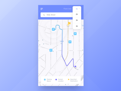 RJ Parking App - Home Founded