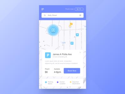 RJ Parking App - Home Founded Pop up