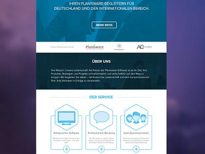 P&S Rebound web redesign ui ux