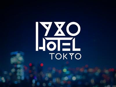 1980 Hotel Tokyo Logo logo design hotel rune typography font