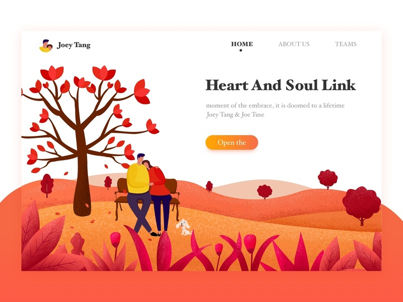 Heart And Soul Link ui 设计 插图