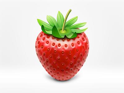 Strawberry icon strawberry icon