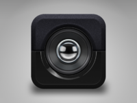 Speaker icon view