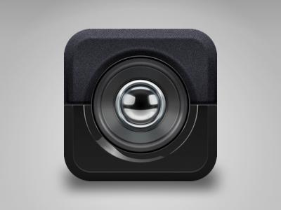 Speaker icon icon speaker ios