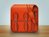 Shoulder bag iOS icon