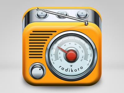 radikoro iOS icon