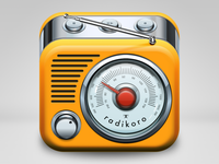 radikoro iOS icon