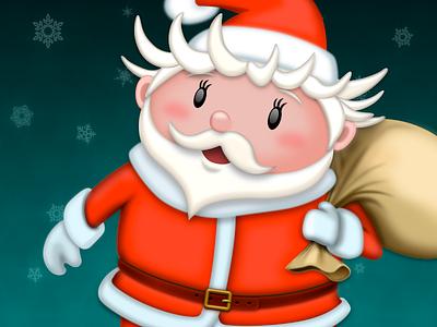 Santa Claus icon icon christmas santa claus
