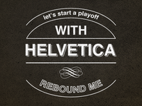 Helvetica Playoff