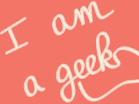I am a geek custom type