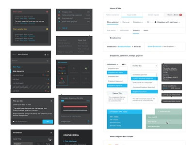 Nutanix Product Guideline v2 ui graphs ux tool guideline guide interface elements