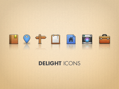 Delight Icons free psd psd icons file free