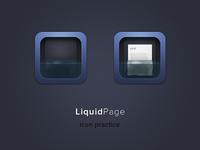 Liquid Page icon practice