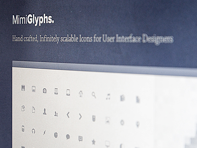 Mimi Glyphs v2 free psd file free psd glyph icons 16px icon small pack