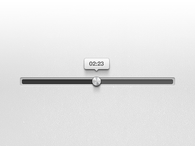 Progress Bar free psd  ui white progress bar clean