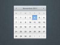 Calendar free psd