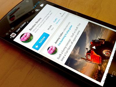 sneak peak wip iphone header menu texture android phone