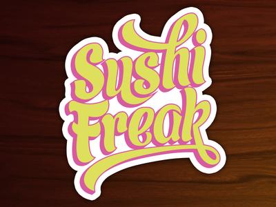 Sushi Freak Sticker