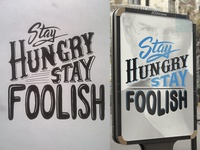 Stay Hungry Stay Foolis