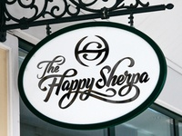 The Happy Sherpa Logo