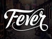 Fever Lettering Logo