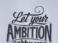 Ambition sketch